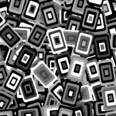 Bakgrund med dekorativa geometrisk rektangel element — Stockvektor