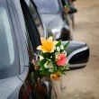 The elegant car for a wedding celebration — Stock Photo #54607061