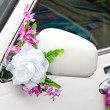 The elegant car for a wedding celebration — Stock Photo #55309409