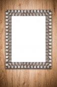 老图片框架 — 图库照片