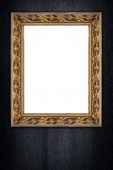 Old picture frame — Foto de Stock