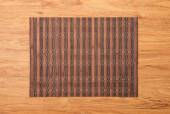 Bamboo place mat — Stock Photo