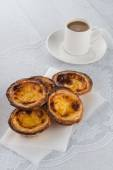 Egg tarts  — Stock Photo