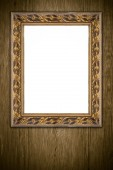 Old picture frame — 图库照片