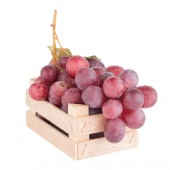 Bunch of red grapes — Stockfoto