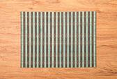 Bamboo place mat — Stock Photo