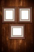 Old picture frames — Stock Photo