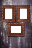 Oude foto frames — Stockfoto