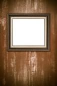 Old picture frame — Fotografia Stock