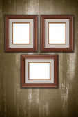 Old picture frames — 图库照片