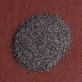 Circle of poppy seeds — Stock Photo
