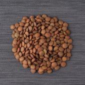 Circle of lentils — Zdjęcie stockowe