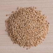 Circle of sesame seeds — Stock Photo