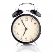Old fashioned alarm clock — Stock fotografie