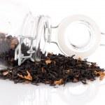 Tea in a glass jar — Stock Photo #70592019