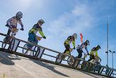 Juvelines racing start — Stock Photo