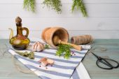 Rosemary and thyme — Stock Photo