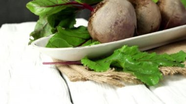 Beetroots — Stock Video