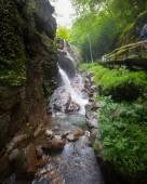 Flume Gorge Franconia Notch New Hampshire — Stock Photo