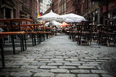 Stone Street New York City — Stock Photo