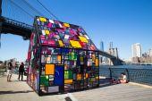 Dumbo Arts Festival Brooklyn NY — Stock Photo