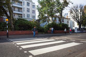 Abbey road london — Stock fotografie