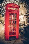 伦敦电话亭 — 图库照片
