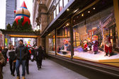 Macy's NYC Christmas Windows — Stock Photo