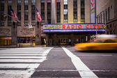 Radio City Music Call NYC — Stock Photo