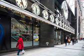 Tourneau Corner NYC — Stock Photo