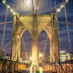 Brooklyn Bridge New York City — Stock Photo #84932272
