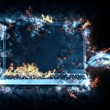 Aflame laptop — Stock Photo #62590477