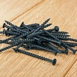 Several drywall screws — Stock Photo #67511867