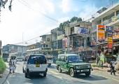 斯里兰卡街头生活 — 图库照片