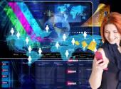 New Internet.E-mail technologies — Stock Photo