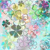 Blumen Hintergrundmuster — Stockfoto