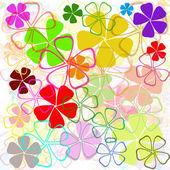 Flowers pattern background — Stock Photo