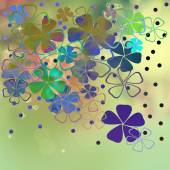 Beautiful flowers abstract background — Stock Photo
