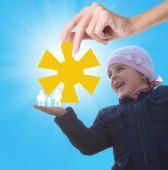 Happy Childhood — Stockfoto