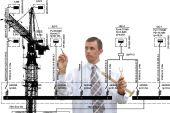 технологии промышленного строительства — Стоковое фото