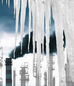 Global Warming Climate.Clean Ecology concept — Foto Stock