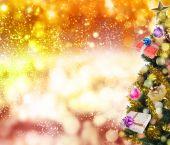 Holidays New Year Tree.MerryChristmas — Stock Photo