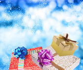 Merry Christmas.Gifts — Stock Photo