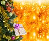 New Year Tree.Merry Christmas — Stock Photo