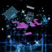 Telecommunications technology — Stock Photo