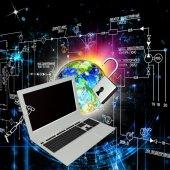 Creation safety internet technologies — Stock Photo
