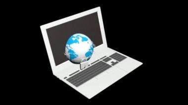 Sicherheitsinternet — Stockvideo