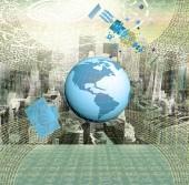Connection Internet technologies — Stockfoto