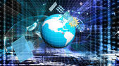 Internet-teknik. Science.Connection — Stockfoto
