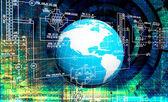 Engineering designing communications computer technologies.Industrial engineering connection — Zdjęcie stockowe